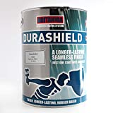 Durashield Grey Rubber Based Waterproof Roof Paint Coating Sealant 5 Litre, High Performance