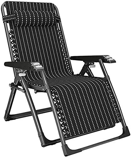 Sillas reclinables Zero Gravity Sillón de Oficina Silla de relajación Silla ergonómica reclinable Reposapiés y Respaldo Ajustables Tumbona Sillas de Videojuegos