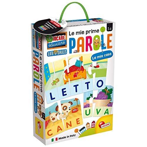 Liscianigiochi-Giocare Educare, Life Skills Le Mie Prime Parole La Mia Casa, 72514