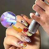 Eariy Mini LED Nail Lamp, Mini LED Nail Lamp for Gel Polish, Nail Dryer for Regular Polish, Soft Silicone Nail Press Lamp