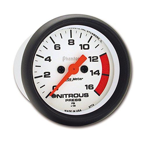 Auto Meter 5774 Phantom Electric Nitrous Pressure Gauge