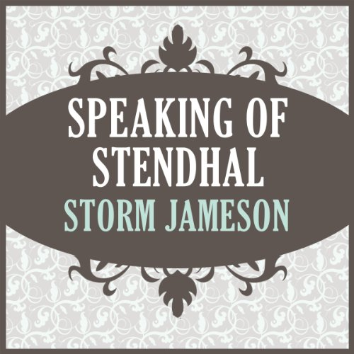 Speaking of Stendhal audiobook cover art