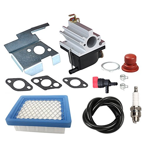 Panari 640020 Carburetor + Air Filter Tune Up Kit for Tecumseh 640020A 640020B VLV126 VLV60 VLV50 VLV55 VLV65 VLV66 VLV126A 6.5HP 6.75HP Engine Lawn Mower