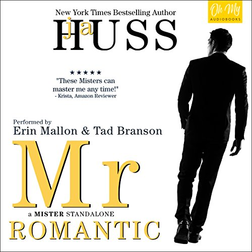 Mr. Romantic audiobook cover art