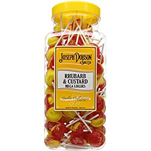 joseph dobson & sons rhubarb and custard mega lollies 1.99 kg Joseph Dobson & Sons Rhubarb and Custard Mega Lollies 1.99 kg 51m3COd08DL