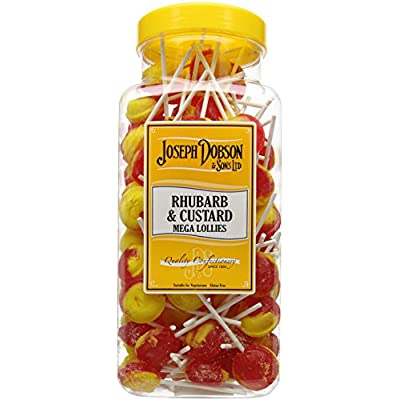 joseph dobson & sons rhubarb and custard mega lollies 1.99 kg Joseph Dobson & Sons Rhubarb and Custard Mega Lollies 1.99 kg 51m3COd08DL