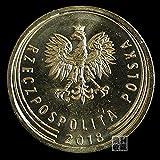 SHFGHJNM Colección de Monedas Polonia 5 Grosse 19.5mm Moneda extranjera Europea Colección de Monedas Refuerzo de Moneda