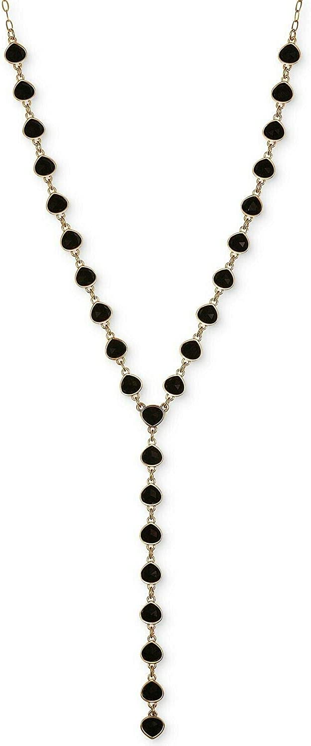 Laundry by Shelli Segal Stone Y Necklace