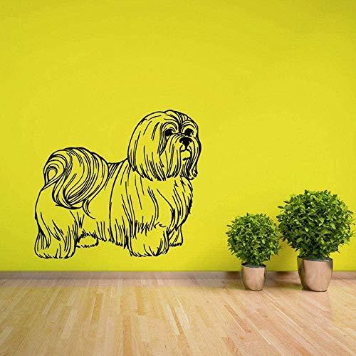 Pegatinas de pared de esquina de dibujos animados de baldosas de cerámica pegatinas de pared pegatinas de habitación de los niños pegatinas de pared pegamento para perros pegatinas de pared pegatina