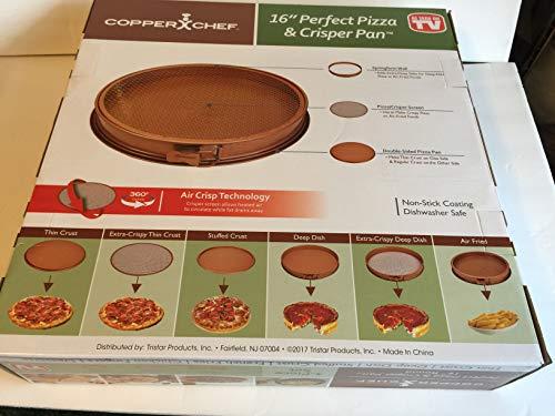 Copper Chef Perfect Pizza and Crisper Pan 15'