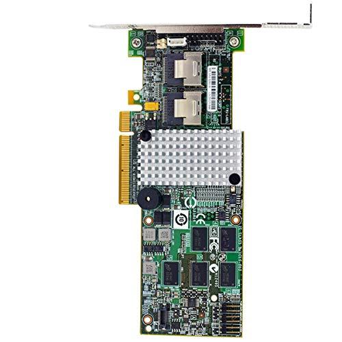 LSIMegaRAID SAS LSI 9260-8i LSI00198 8 Port 512MB Cache SFF8087 6GB RAID0.1.5.6 PCI-E 2.0 X8 Controller Karte