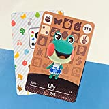 No.218 Lily Animal Crossing Villager Cards Series 3. Third Party NFC Card. Water Resistant