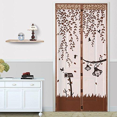 cortinas para puertas exteriores iman