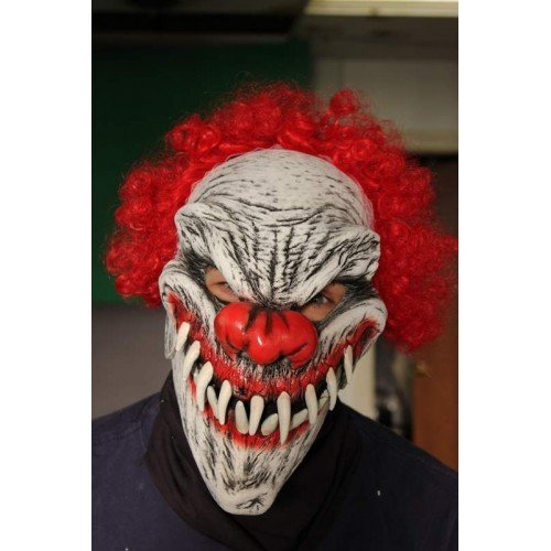 Mask Moving Mouth Clown Last Laugh by CC