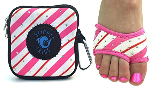 Spinner Skins Neoprene Dance Half Soles and Pouch