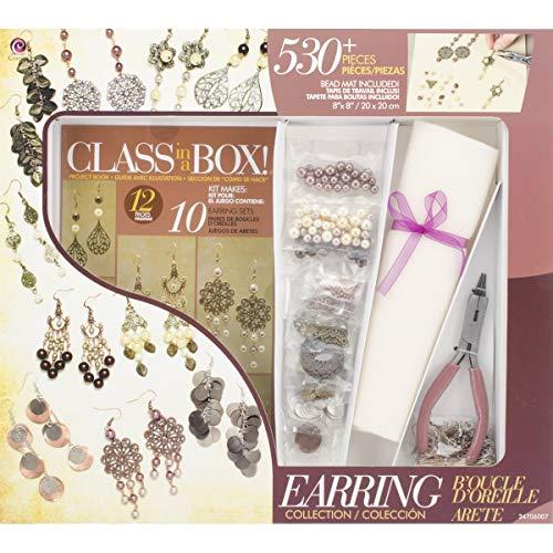 Sieraden Basics Class in een doos Kit-Goud & Koper Oorbellen