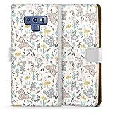 DeinDesign Étui Compatible avec Samsung Galaxy Note 9 Étui Folio Étui magnétique Produit sous...