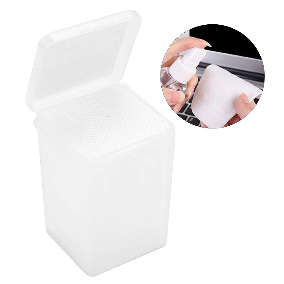 落ち着く物理豊富に拡大 接着剤のワイプ 不織布の接着剤のびん クリーニングのワイプの取り外しのための180個のまつげ延長パッド