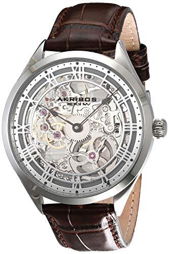 Akribos Skeleton Mechanical Wind Men's...