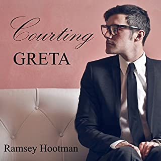 Courting Greta audiobook cover art