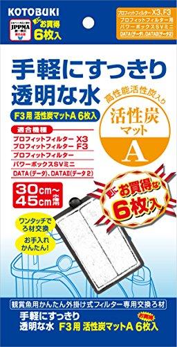 寿工芸 F3用活性炭マットA6枚入