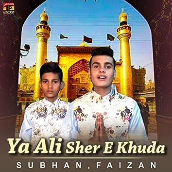 Ya Ali Sher E Khuda - Single