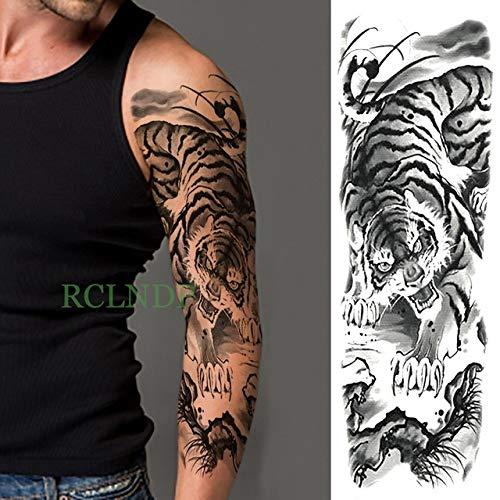 Tatuaje impermeable apliques brazo completo cuerpo