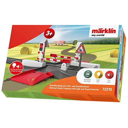 Märklin my world 72215 - Bahnübergang mit Licht- und Soundfunktion, Spur H0