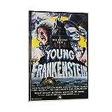 XIAOJU Young Frankenstein Filmposter, HD-Motiv, dekoratives