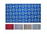 Alfombra Cocina Lavable Antideslizante, Alfombrilla Cocina Absorbe Agua, Suelo Cocina, alfombras largas, pequeñas y Grandes, Diferentes Medidas (Azul, 99_x_150_cm)