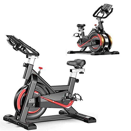 Entrenador de bicicleta de ciclismo de interior ajustable, bicicleta de ejercicio profesional estacionaria, ejercicio de resistencia a magnetrón, para entrenamiento de gimnasio cardiovascular en casa