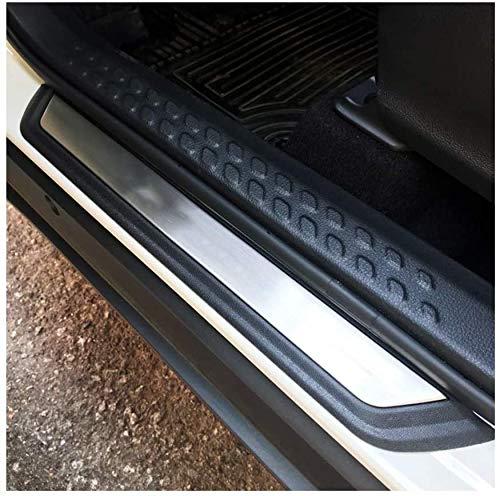LFOTPP Tiras de umbral de acero inoxidable, accesorios de diseño de automóviles, protección de umbral para CHR[4 unidades]