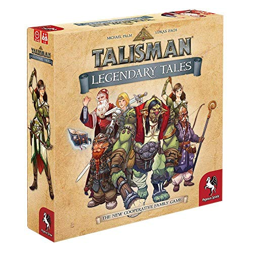 Pegasus Spiele 56100E - Talisman - Legendary Tales