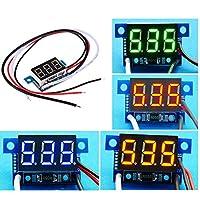 グリーンライトミニ逆接続保護電流計クリニークでは0.36インチのDC電流計DC0-999mA 4-30Vデジタルディスプレイ