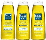 Mixa Bébé Shampooing Très Doux Hypoallergénique 250 ml - Lot de 3