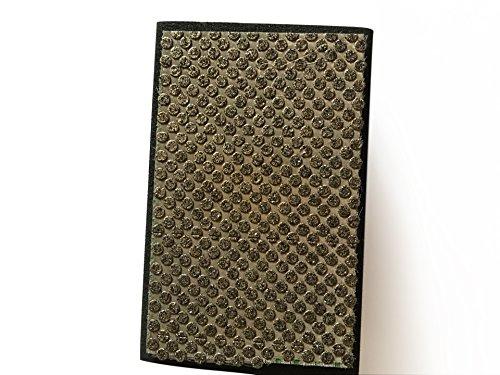 En Mousse Pour meulage diamant à sec à la main polissage Pad Grain 60 Noir