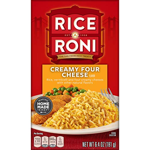 RICE-A-RONI Creamy Four Cheese 12-Pack Now $8.57