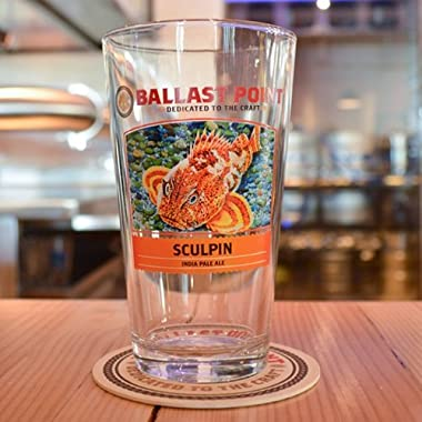 Ballast Point Brewing Company - Sculpin IPA Pint Glass