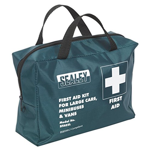 SEALEY sfa02l First Aid Kit groot voor kleine bussen en trainers - Conform BS 8599-2