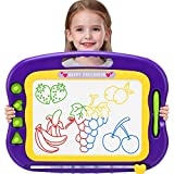Wellchild Magnetic Drawing Board,Toddler Toys for Girls Boys 3 4 5 6 7 Year Old Gifts,Magnetic Doodle Board for Kids,Large Etch A Magnet Sketch Doodle Pad