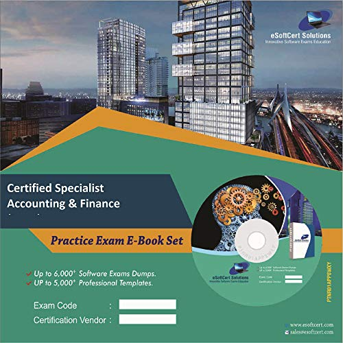 Certified Specialist Accounting & Finance (CSAF) Online Certification Video Learning Success Bundle (DVD)