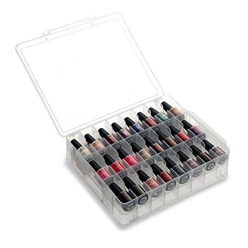 Chroma Gel Universal Nagellack-Tasche, Halter, Aufbewahrung, Transparent