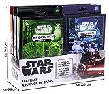Topps Star Wars Archivo, Caja de Cromos, un Conjunto Completo con una impresión de 8x10''...