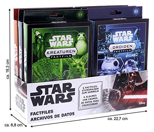 Topps Star Wars Archivo, Caja de Cromos, un Conjunto Completo con una impresión de 8x10'' Gratuita Authentics