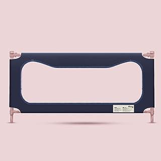 (Newox) ベッドガード ベッドフェンス ベビーサークル 幼児用 転落防止 昇降タイプ (ネイビー, 180cm)