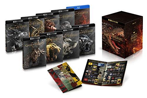ゲーム・オブ・スローンズ(第一章~最終章)4K ULTRA HD コンプリート・シリーズ(30枚組+ブルーレイ ボーナス・ディスク3枚付)[4K ULTRA HD + Blu-ray]