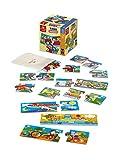 Desde Negro Baby Trio transportes. pequeño Puzzle A Grandes Tarjetas, Multicolor, 53942