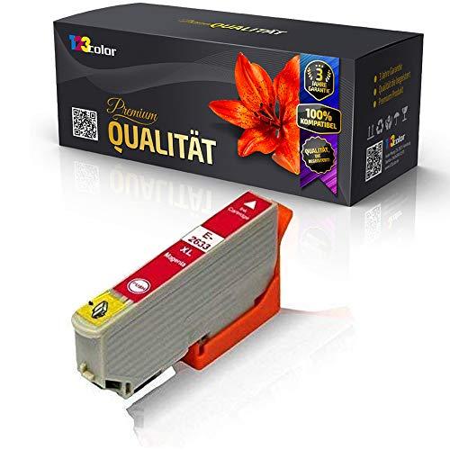 Alternative Tintenpatrone für Epson Expression Premium XP 620 XP 625 XP 700 XP 710 XP 720 XP 800 XP 810 XP 820 C13 T2633 4010 T2633 Magenta 12,5 ml
