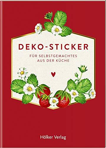 Deko-Sticker (Rote Beeren, Küchenpapeterie): Für Selbstgemachtes aus der Küche