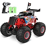 tech rc Monstertruck Ferngesteuertes Auto Off-Road 1:14 Truck 2 Akku 50+ Lange Laufzeit RC Car Buggy Truck Gelndewagen 2,4GHz 15KM/H Spielzeug fr Jungen und Mdchen Kinder Geschenk - Adler